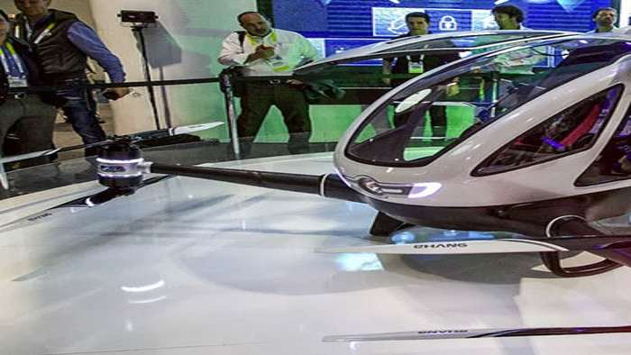 EHang 184 AAV - Life-Size Rideable Drone | DudeIWantThat.com