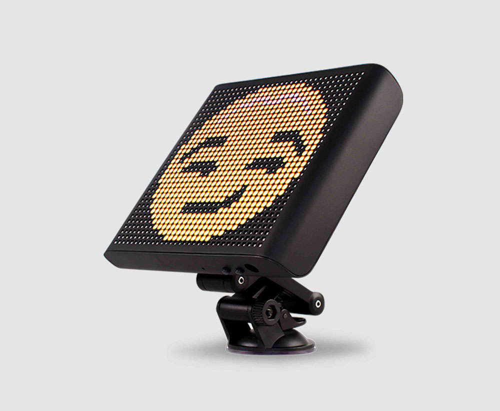 365a01f72d09d Mojipic Voice-Controlled Emoji Car Display