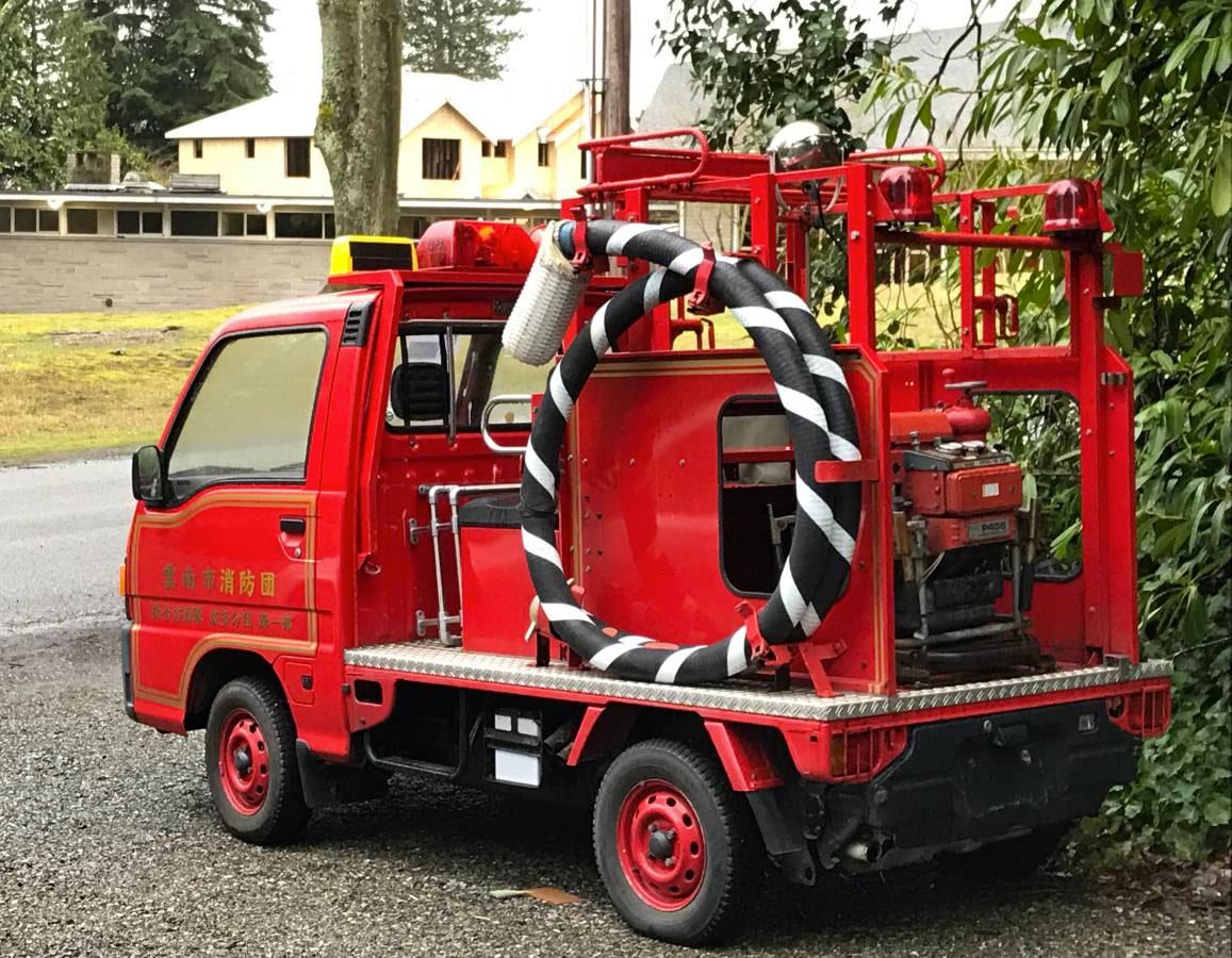 Subaru Sambar 4 x 4 Fire Truck