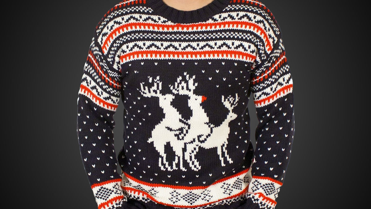 bc67225124afee ... Christmas Sweaters · Fallout · Reindeer Threesome ...