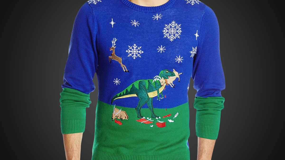 211338df051f53 ... Christmas Sweaters · Fallout · Reindeer Threesome · Streetfighter ·  T-Rex ...
