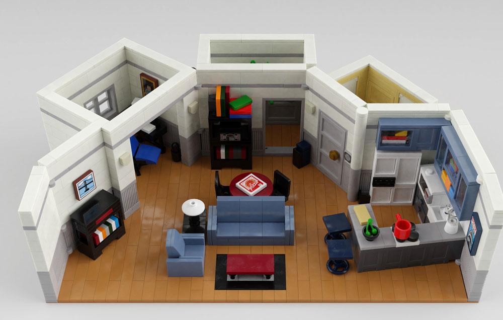 Seinfeld 30th Anniversary LEGO Set | DudeIWantThat com