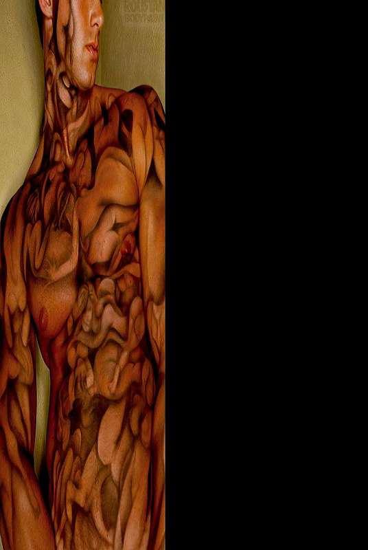 roustan body paint photo book (nsfw) | dudeiwantthat