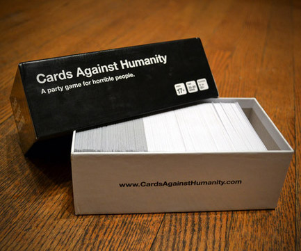 Cards Against Humanity A Vicious Party Game Dudeiwantthat