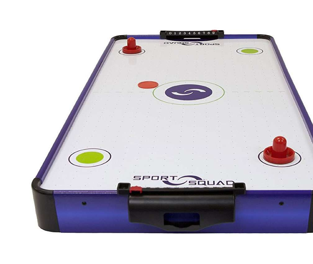 Tabletop Electric Air Hockey Table DudeIWantThatcom
