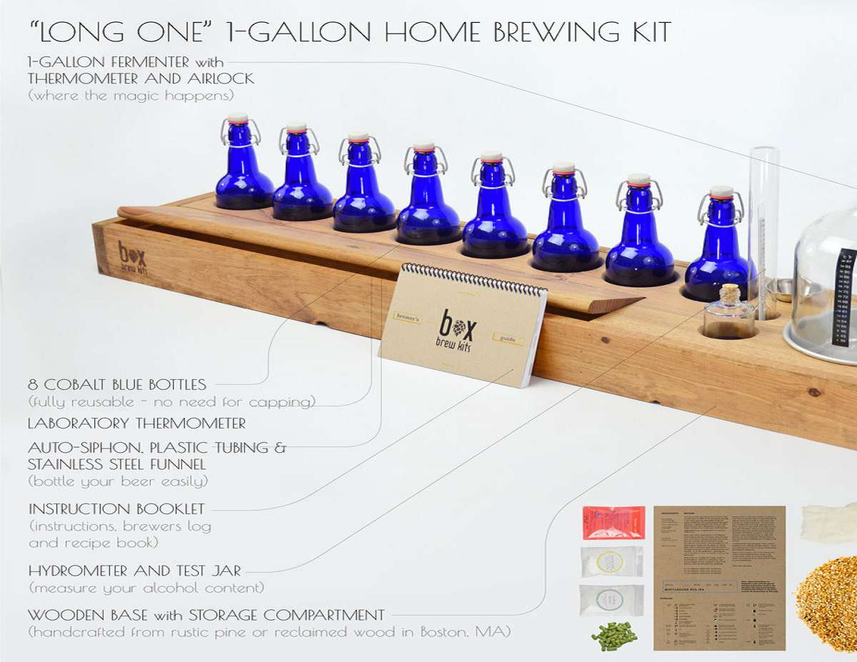 Home Brewing Beer \u0026 Bottle Kits | DudeIWantThat.com