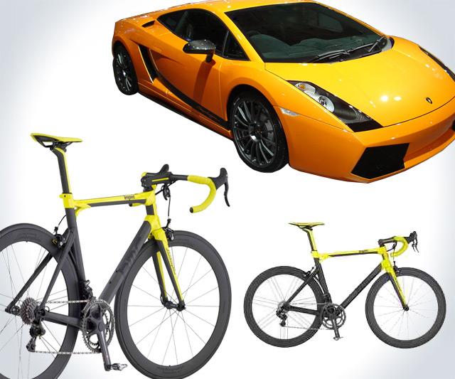 The 30 000 Lamborghini Bicycle Dudeiwantthat Com