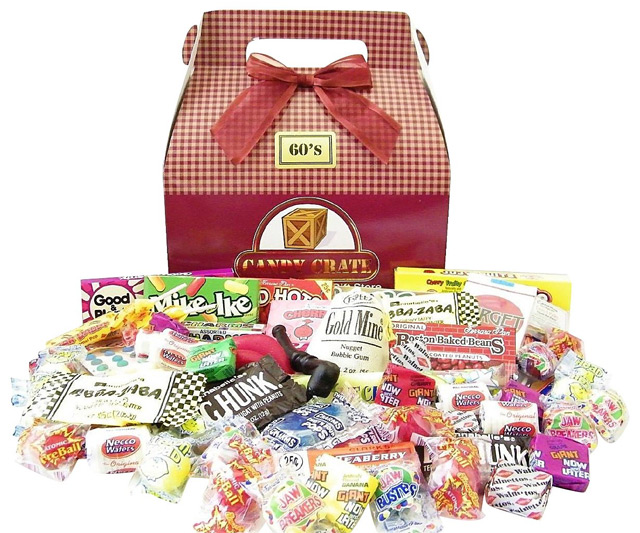 Retro Candy Gift Boxes   DudeIWantThat.com