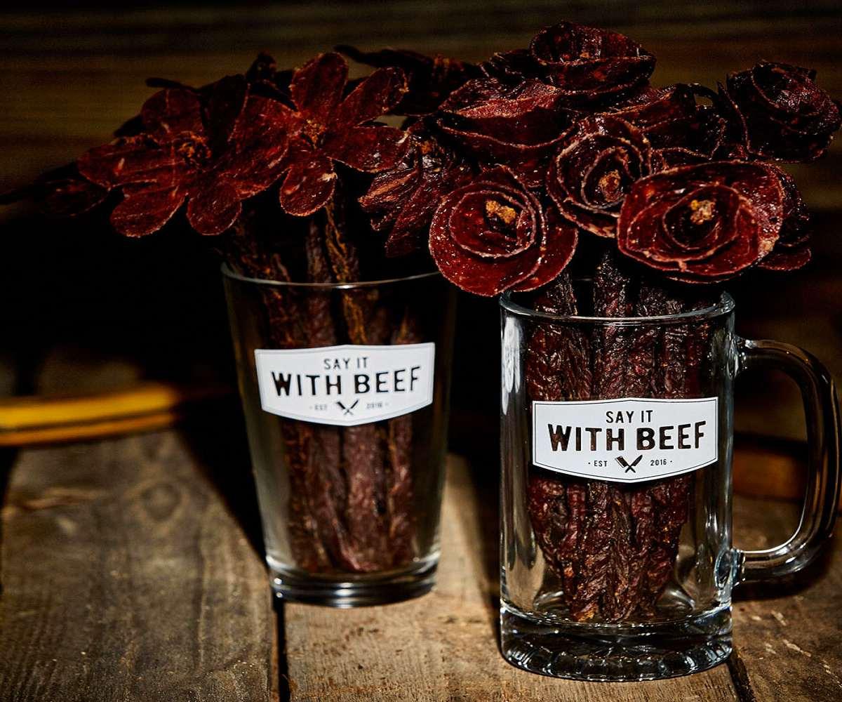 Beef Jerky Flowers; Beef Jerky Flowers ...