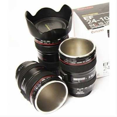 Camera Lens Coffee Mug | DudeIWantThat.com