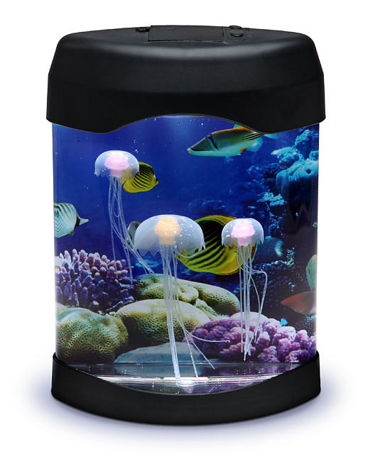 Beautiful LED Jellyfish Mood Lamp; LED Jellyfish Mood Lamp ...