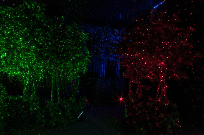 the best laser lights for Christmas