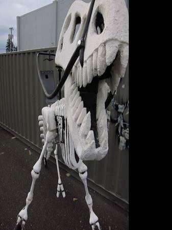 ... Giant Rideable T-Rex Bike ... 388a52087c