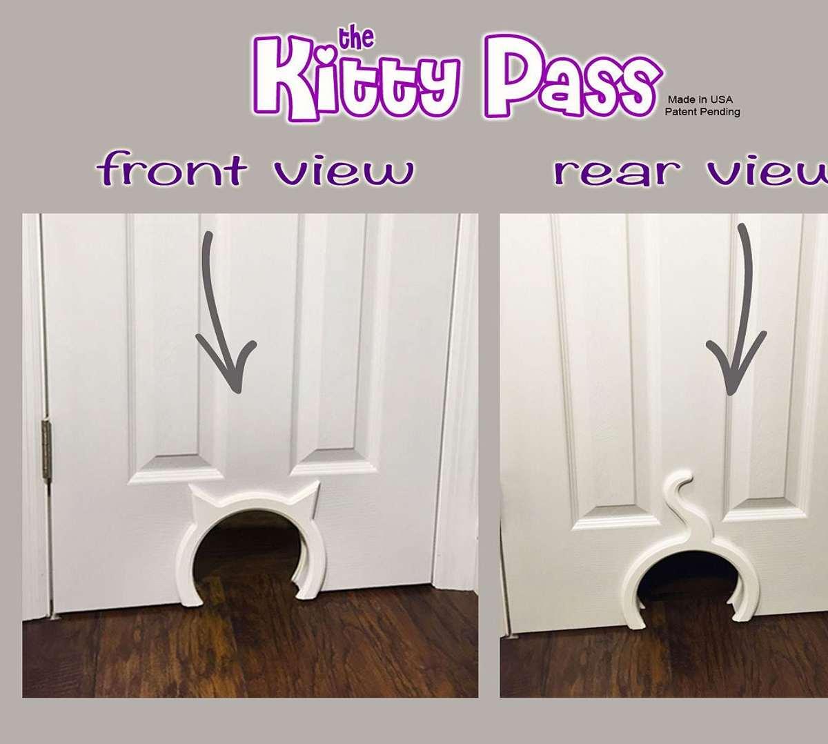 Perfect ... The Kitty Pass Interior Cat Door ...