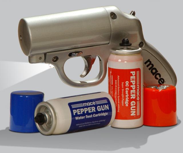 Image result for pepper spray gun