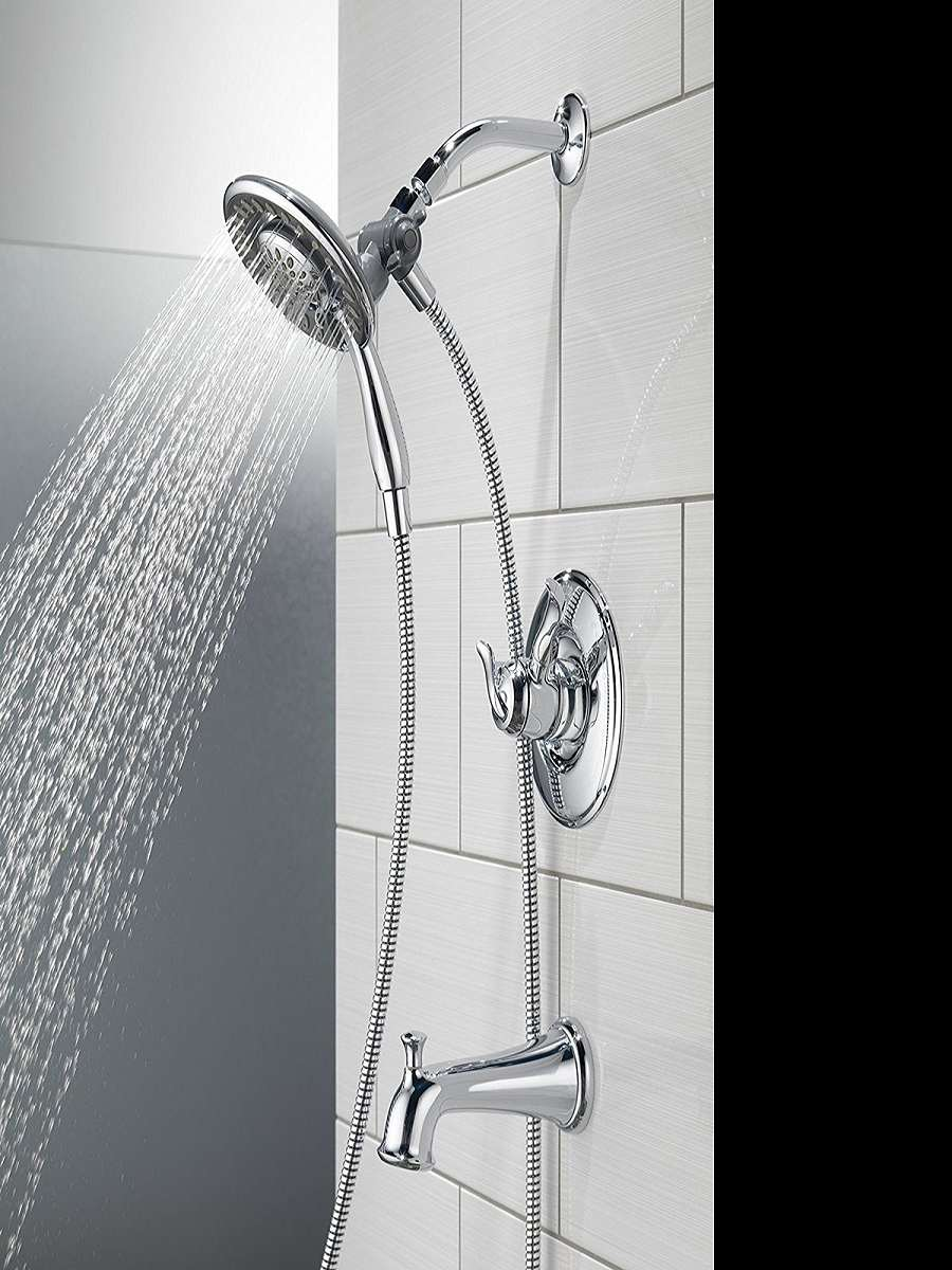 Delta In2ition 2-in-1 Shower Head | DudeIWantThat.com