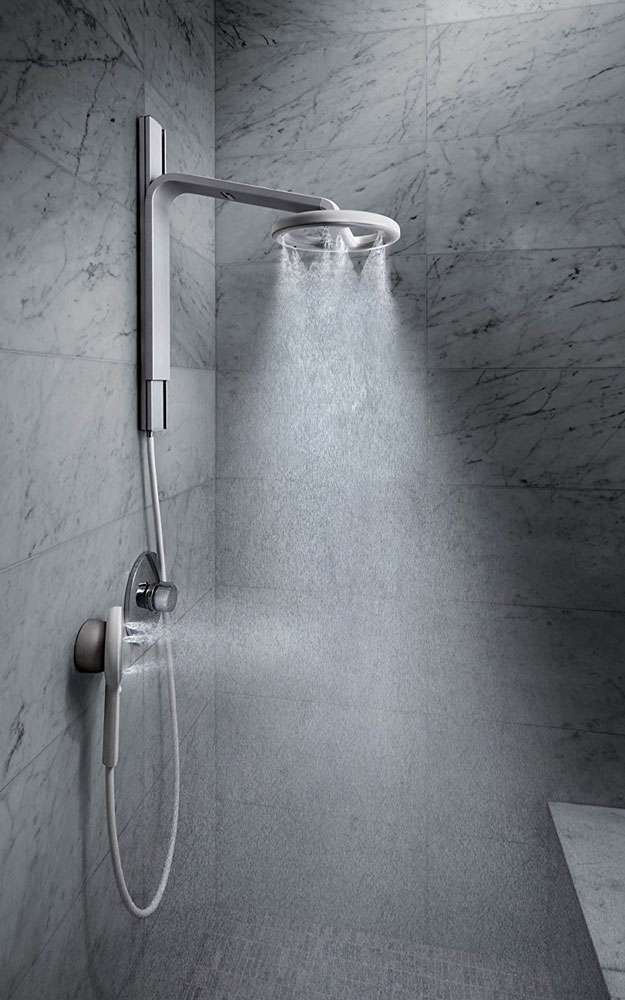 nebia atomized water showerhead | dudeiwantthat
