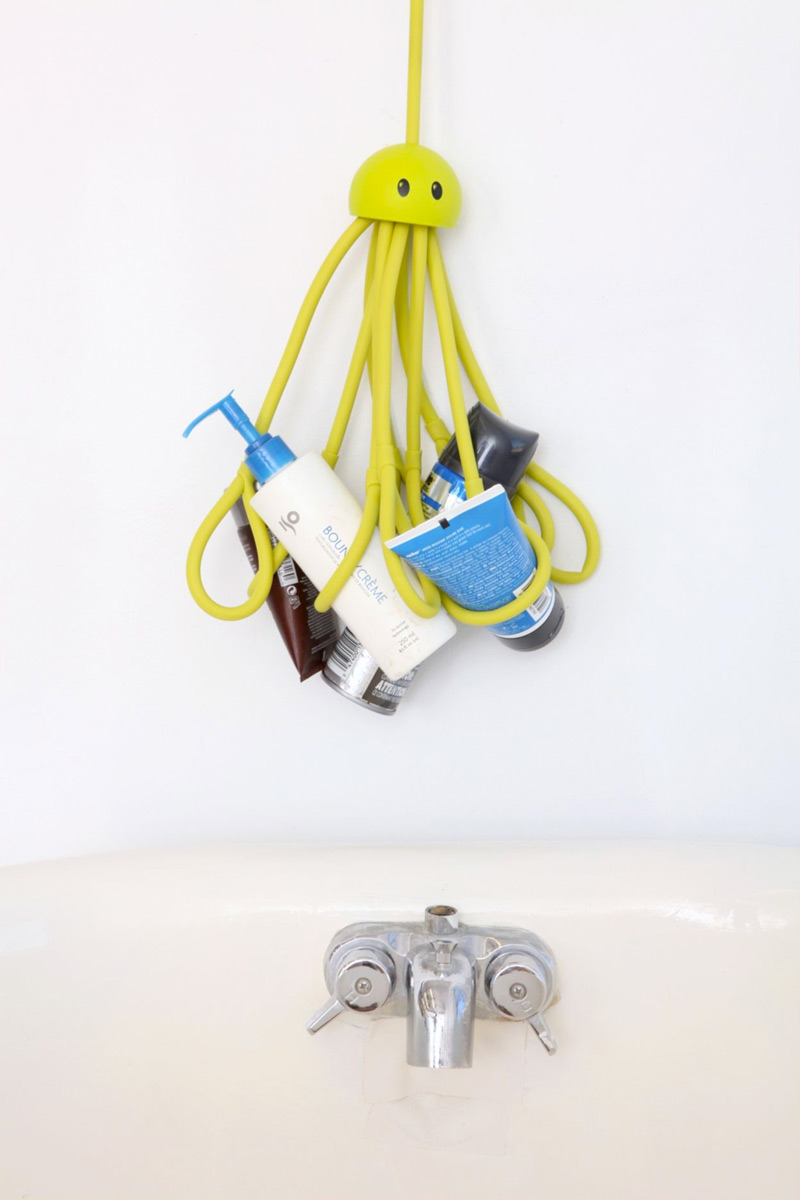 Octopus Shower Caddy | DudeIWantThat.com
