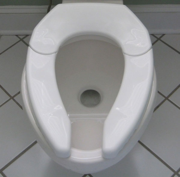 Ordinaire ... One Size Fits All Toilet Seat ...