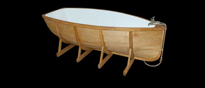 Ordinaire ... Viking Boat Bathtub ...
