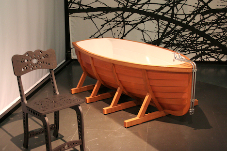 Merveilleux ... Viking Boat Bathtub
