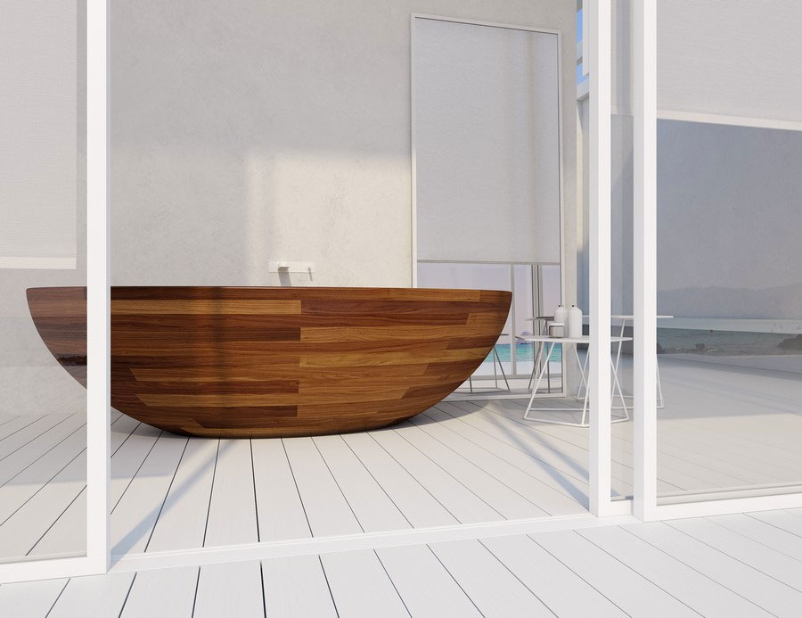 Wooden Boat Bathtub · Wooden Boat Bathtub ...