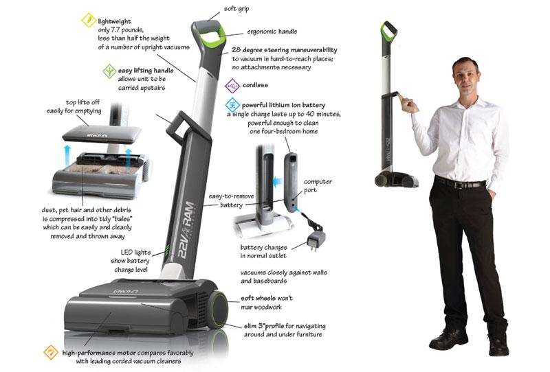 airram highpower cordless vacuum cleaner - Cordless Vacuum Cleaner