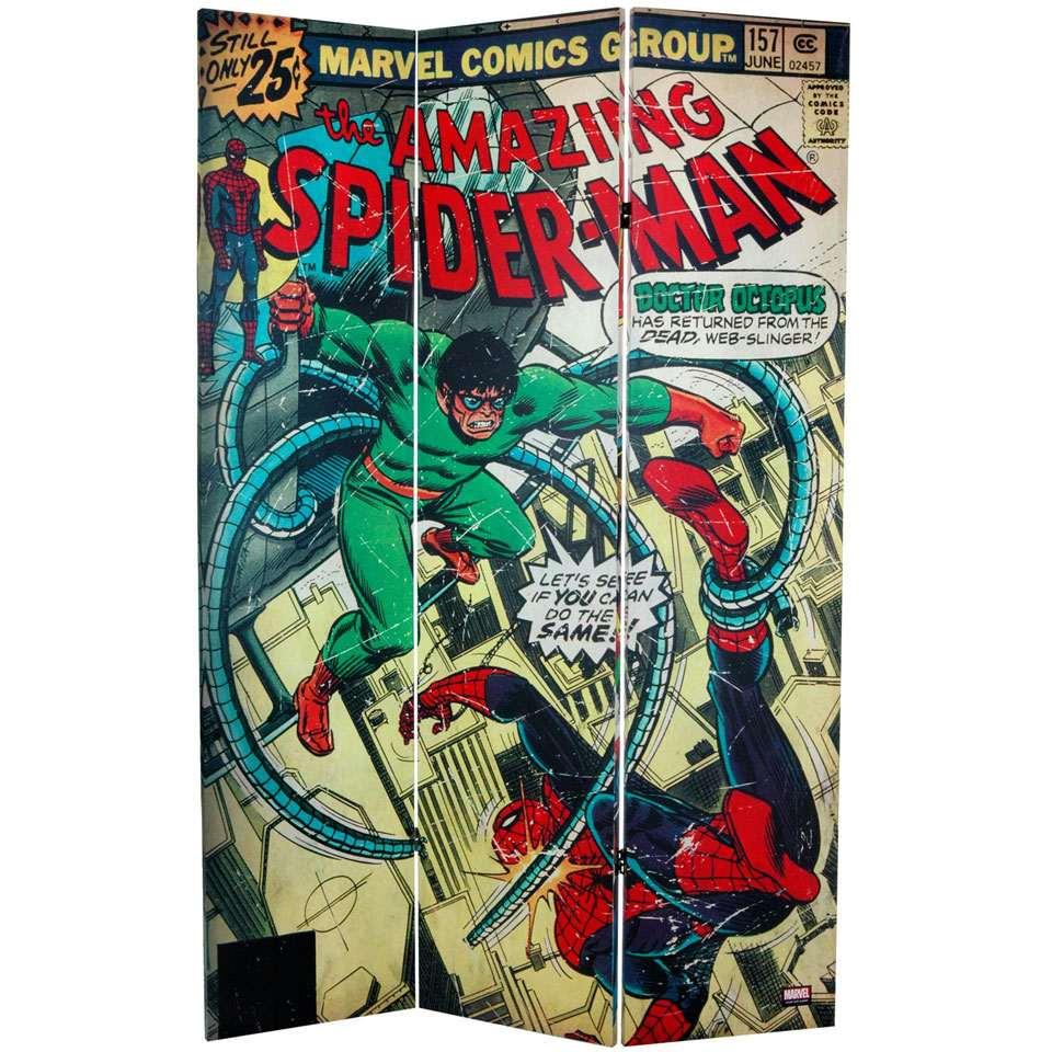 6 Foot Spider ManX Men Room Divider DudeIWantThatcom