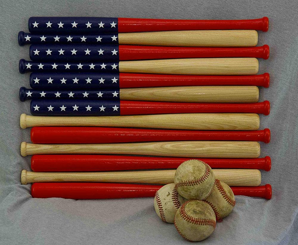 ... Baseball Bat American Flag ... 9537e7d17