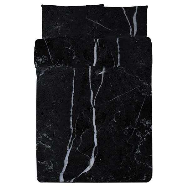 Lovely  Black u White Marble Bedding