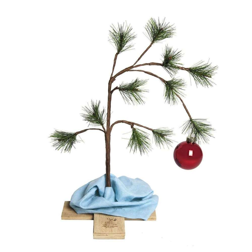 Charlie Brown Christmas Tree | DudeIWantThat.com