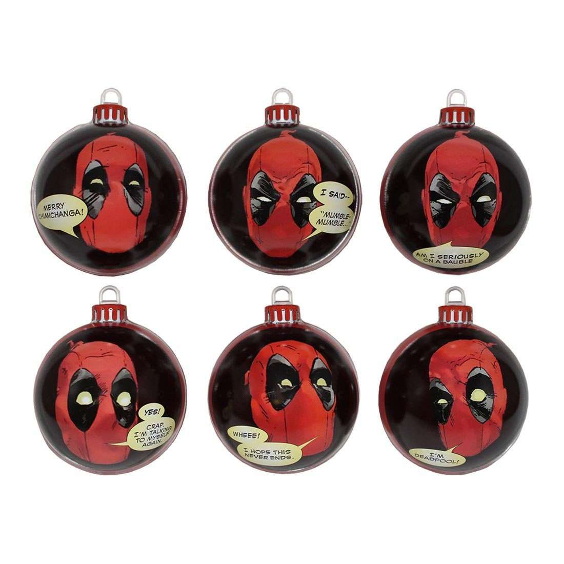 Deadpool Christmas Tree Ornaments | DudeIWantThat.com