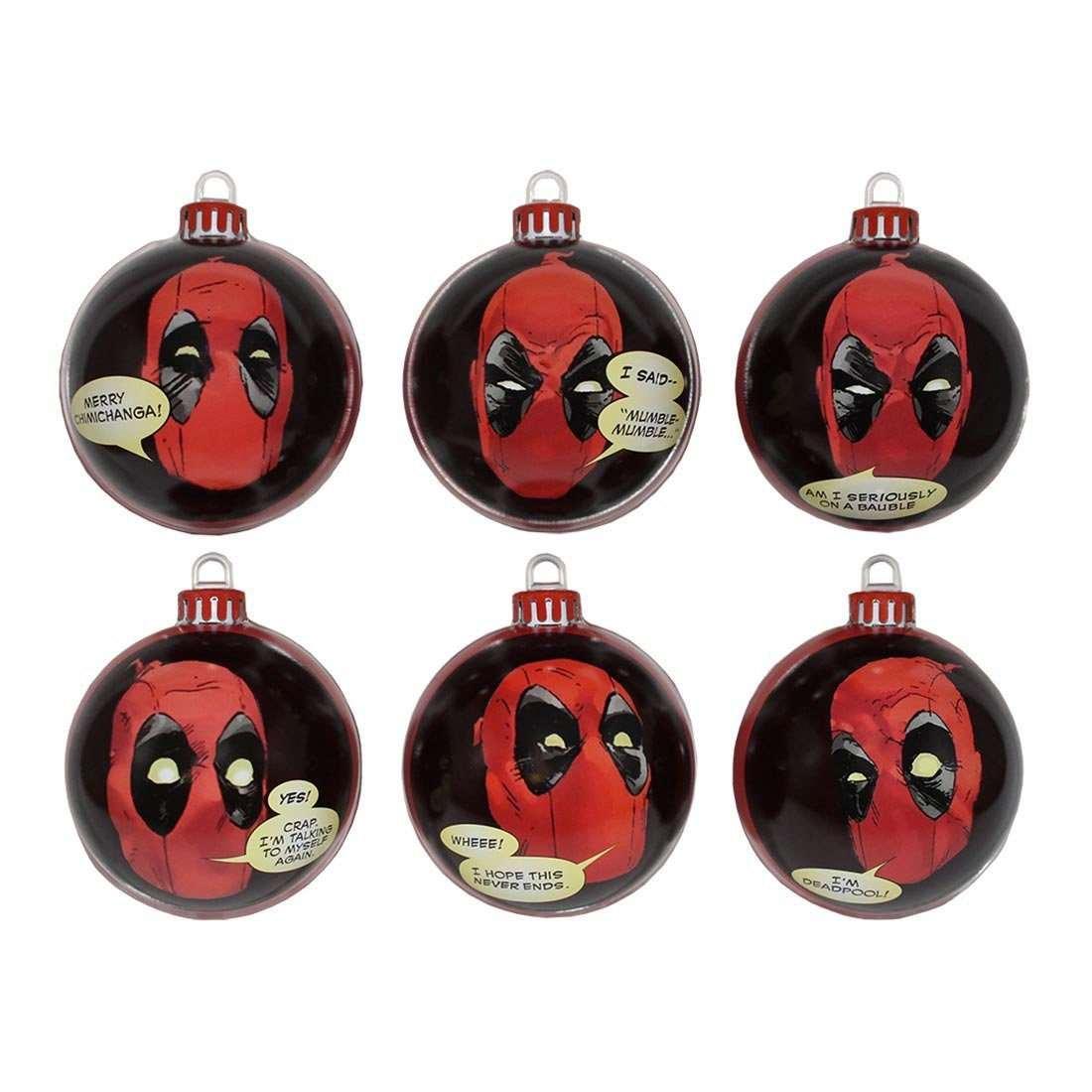 Deadpool Christmas Tree Ornaments | DudeIWantThat.com