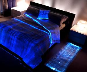 Vintage Fiber Optics Bedspread Fiber Optics Bedspread