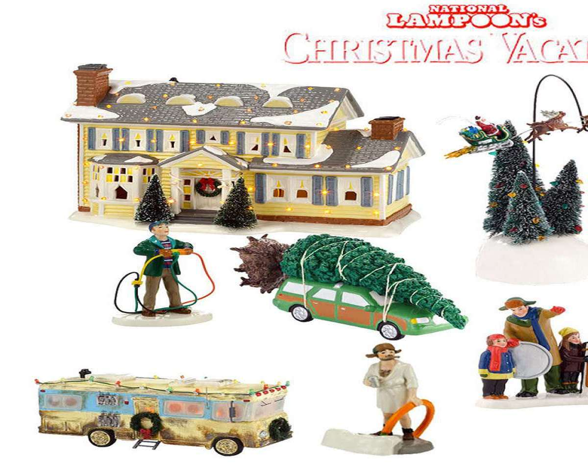 national lampoons christmas vacation village - National Lampoons Christmas Decorations
