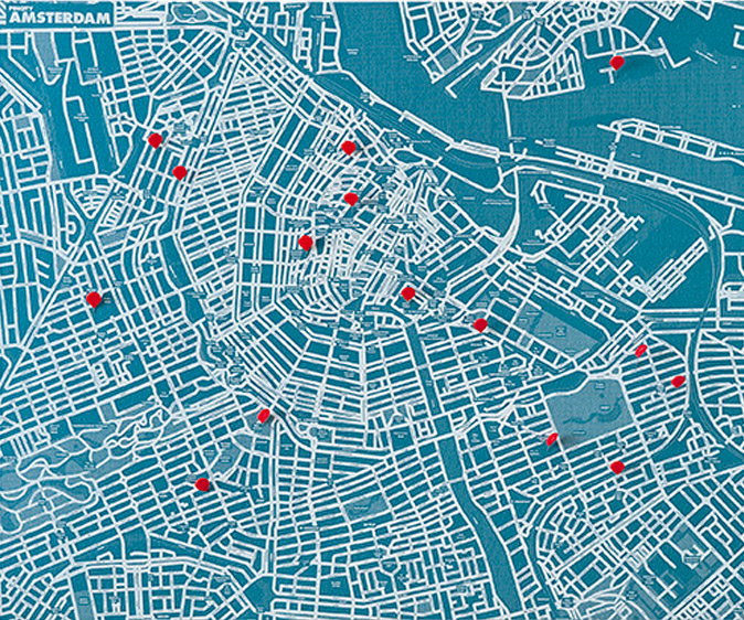 City Map With Pin Pointers 3d Rendering Image Stock Photo, Picture ...