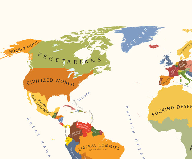 The world according to americans dudeiwantthat the world according to americans us view gumiabroncs Choice Image