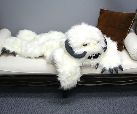 Wampa Rug; Wampa Rug On Bed ...