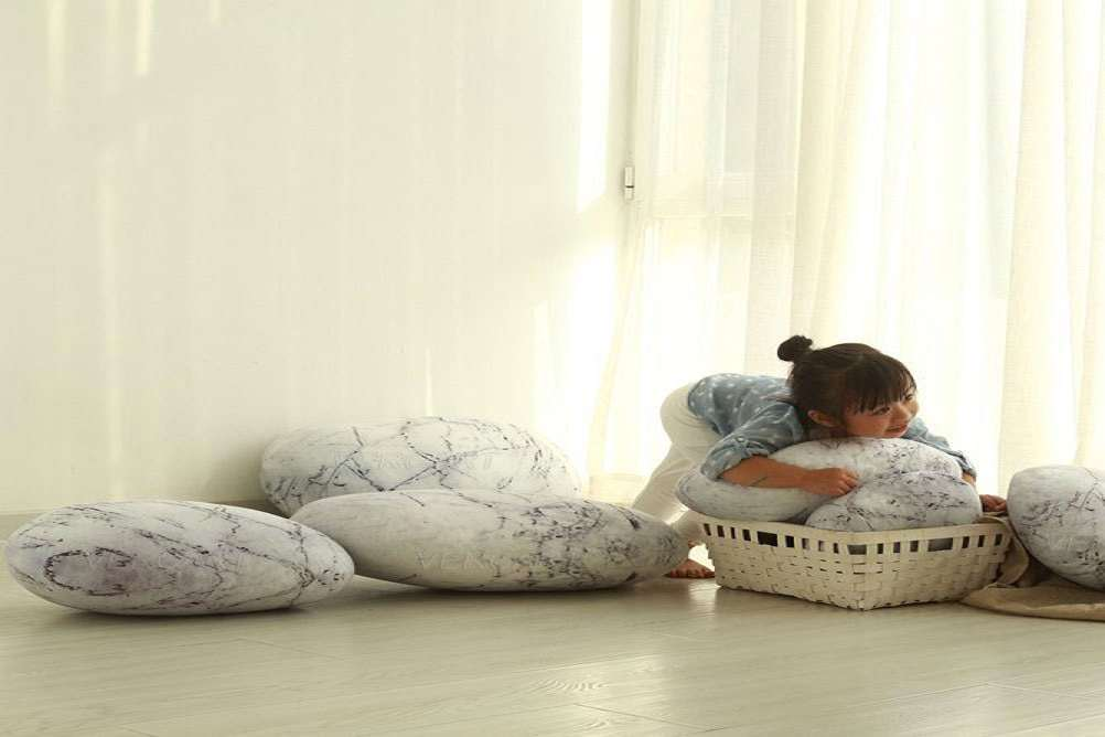 Zen Stone Floor Pillows