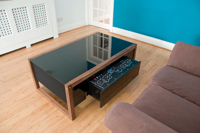 Arcade PC Coffee Tables DudeIWantThatcom