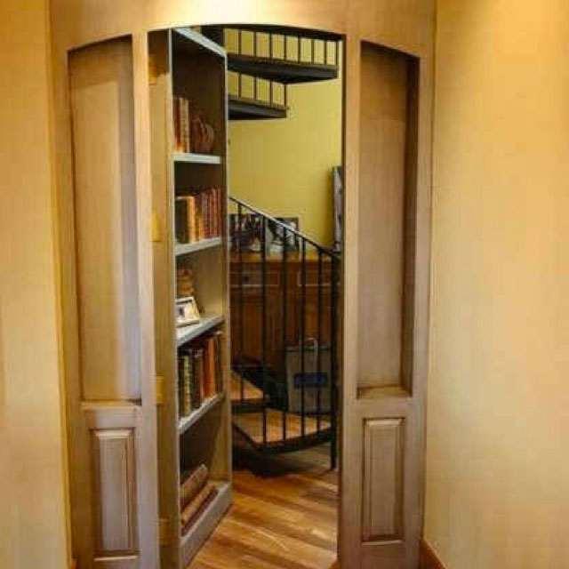 ... DIY Hidden Door Hinge System ...