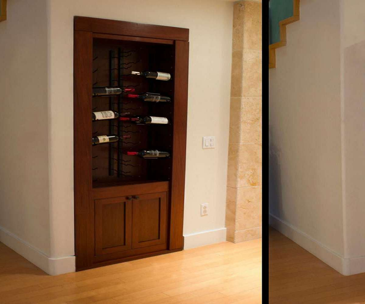 DIY Hidden Door Hinge System | DudeIWantThat.com