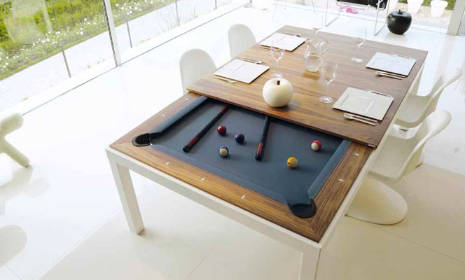 New  Fusiontables Dining Pool Tables
