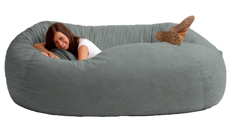 Giant Bean Bag Sofa; Giant Bean Bag Sofa ... - Giant Bean Bag Sofa DudeIWantThat.com