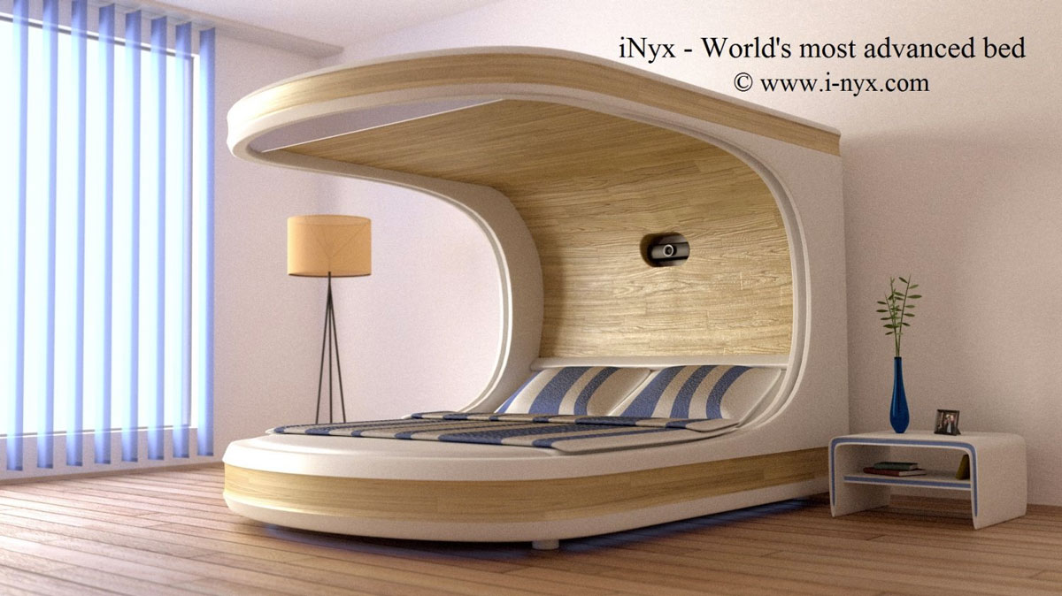 bedroom bed.  iNyx Self Contained Bedroom Bed DudeIWantThat com