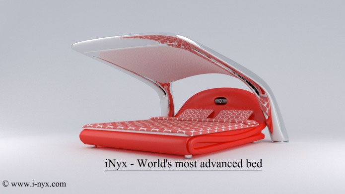 inyx - self-contained-bedroom bed | dudeiwantthat