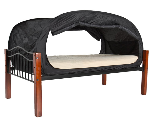 privacy pop bed tent | dudeiwantthat