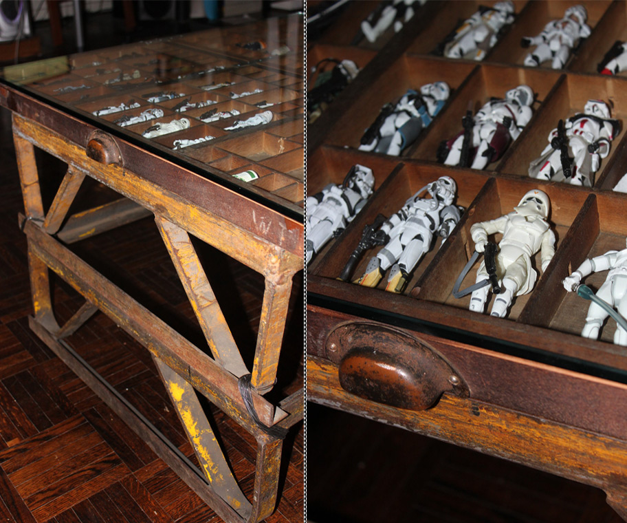 Star Wars Coffee Table; Star Wars Coffee Table - Star Wars Coffee Table DudeIWantThat.com