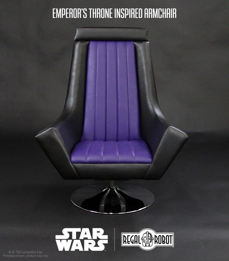 Star Wars Emperor Throne Armchair Dudeiwantthat Com