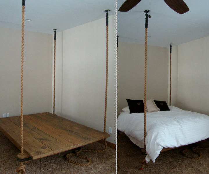 The Hanging Bed | DudeIWantThat.com